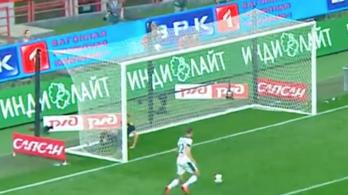 3 másodperc alatt 2 lehetetlenül nagy gólvonalas mentés Oroszországból