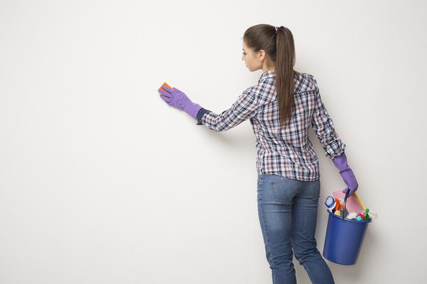 Patyolattiszta és makulátlan lesz a lakás fala: így tisztítsd, hogy szép legyen