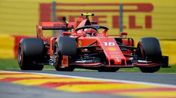 Charles Leclerc nyerte a Belga Nagydíjat