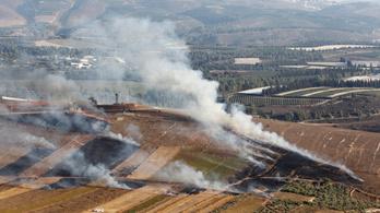 Libanon azt állítja, lelőttek egy izraeli katonai járművet, Izrael visszalőtt