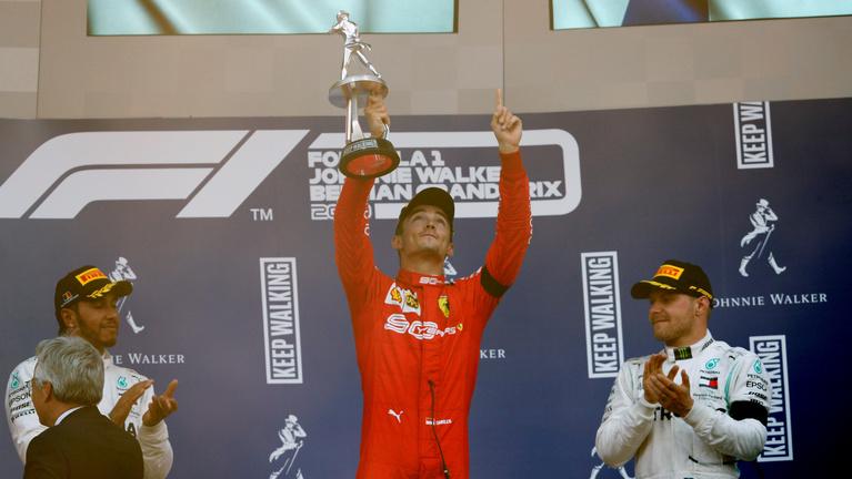 Leclerc Spában húzta be első F1-győzelmét
