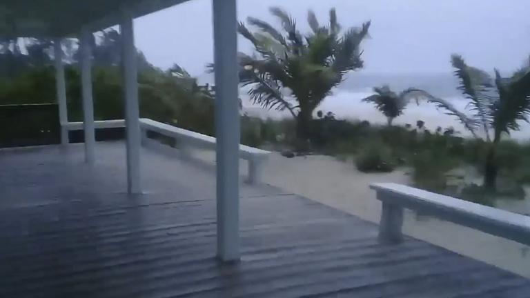 300 kilométer per órás szélsebességgel elérte a Bahamákat a Dorian hurrikán