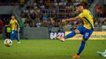 A Dunaszerdahely Vida góljával fordított, majd jól elverte a Slovant