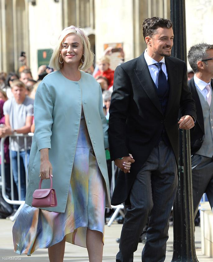 Esküvőn járt Katy Perry és Orlando Bloom
