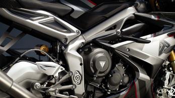 Megmutogatták a Triumph Daytona Moto2 765 műszaki különlegességeit