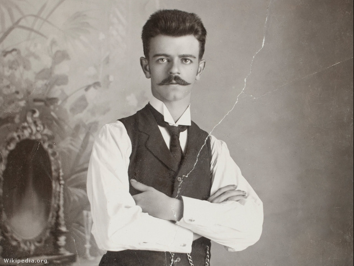 Guillermo Kahlo önarcképe 1920-ból