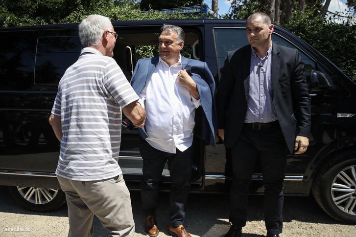 Orbán Viktor a 2018-as kötcsei Polgári Pikniken