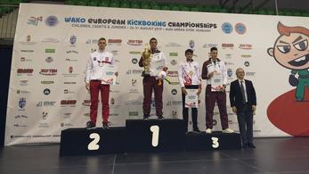 114 érmet nyertek a magyarok a korosztályos kick-box Eb-n