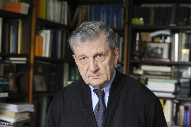 Maróth Miklós akadémikus az Eötvös Loránd Kutatási Hálózatot irányító testület elnöke