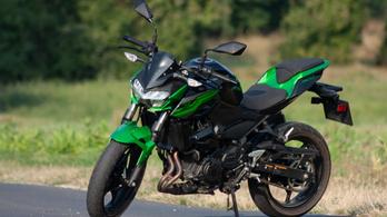 Teszt: Kawasaki Z400 – 2019.
