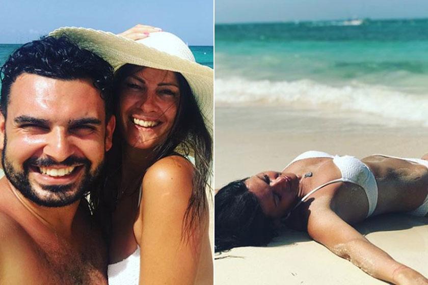 Horváth Tamás felesége, Péterfi Andrea az egyik legszebb sztárfeleség.