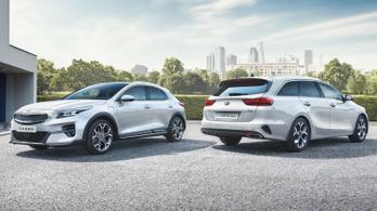 Két új tölthető hibridet mutatott be a Kia