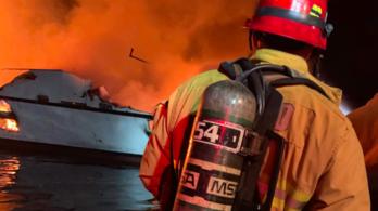 Az utasok aludtak, a hajó leégett: huszonöt holttestet találtak Kalifornia partjainál
