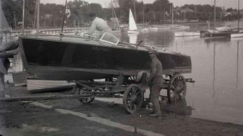 Hidroplánok, gőzhajók, versenycsónakok uralták a rég letűnt Balatont