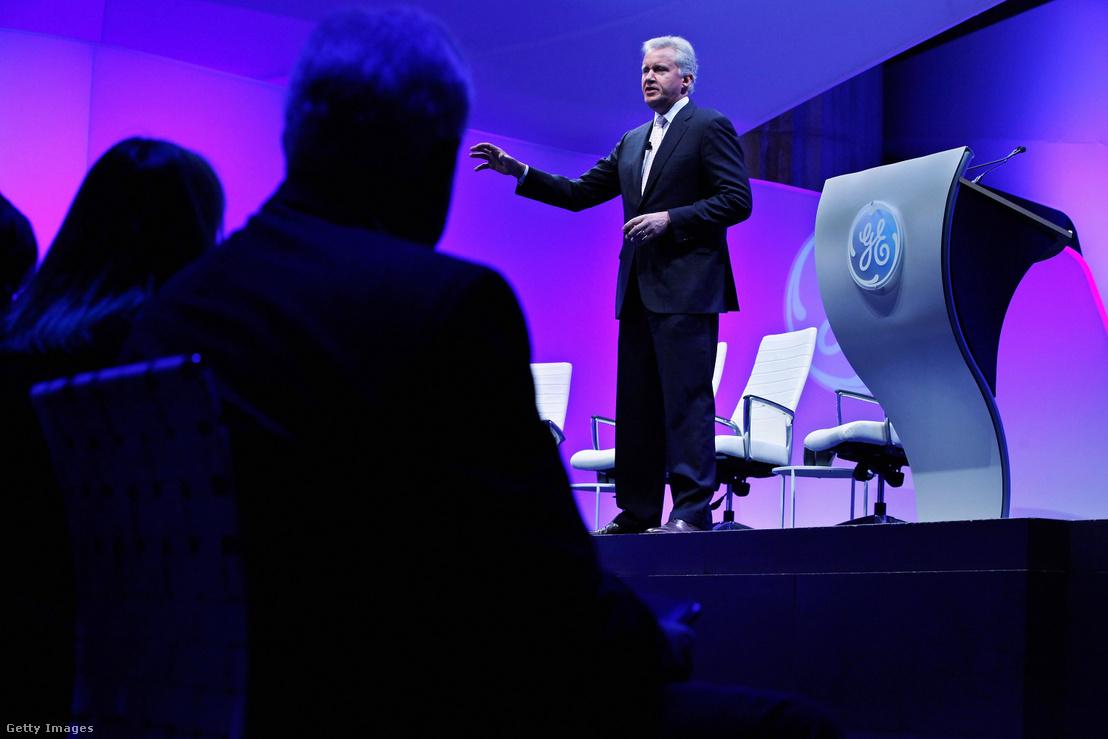 """Jeffrey Immelt megnyitóbeszéde a 4 napos """"Amerikai versenyképesség: mi működik"""" című eseményen Washingtonban 2012. február 13-án"""