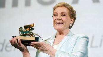 Julie Andrews életműdíjat kapott a Velencei Filmfesztiválon