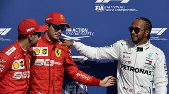 Kemény kritikát kapott Vettel Hamiltontól