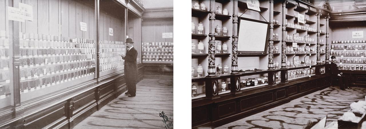 Böckh János mindig nagy figyelmet fordított a szakemberek, a bányászok és a nagyközönség ismereteinek bővítésére is: látványos kiállításokat szervezett, amelyek itthon és külföldön is sorra nyerték az okleveleket, elismeréseket, érmeket. Az 1896-os millenniumi ünnepségek keretében rendezett kiállításon például bemutatta az intézet teljes tudományos és gyakorlati irányú tevékenységét, mellyel szintén óriási elismerést vívott ki. E képeken az intézet mű- és építőipari kőzetgyűjteménye, valamint a kiégetett anyagmintáinak gyűjteménye látható az 1891-es budapesti agyag-, cement- és kőipari kiállításon.