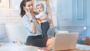 Jó hír a kisgyermekes anyáknak: számít rájuk a munkaerőpiac