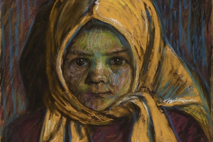 A Sárga kendős kislány