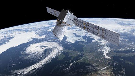 Az ESA Aeolus műholdja