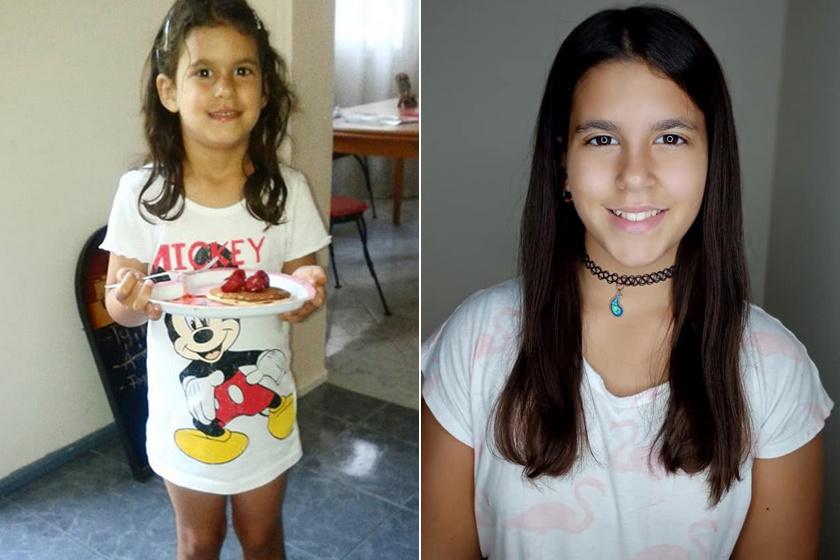 Molli elképesztően megnőtt, cuki kislányból szép kiskamasz lett.