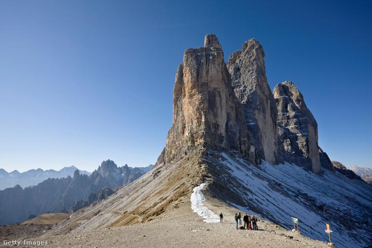 Tre Cime di Lavaredo, Olaszország