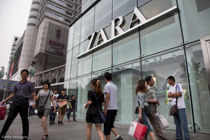 Pekingi Zara üzlet