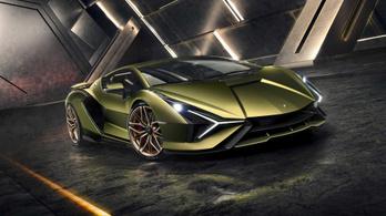 Hibrid hajtással érkezik a valaha volt legerősebb Lamborghini