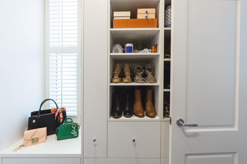 Ízléses és rendezett így a sok cipő: szuper tárolókat mutatunk