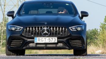 Teszt: Mercedes-AMG GT 63 S 4Matic+ 4 door - 2019.