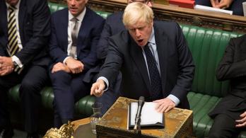 Boris Johnson fontos szavazást bukott el az alsóházban, előrehozott választást lengetett be