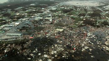 Leírhatatlan pusztítást hagyott maga után a Dorian hurrikán