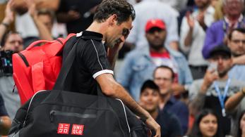 Öt szettben esett ki Federer a US Openről