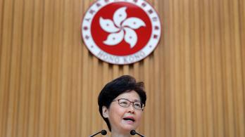 Visszavonják a tüntetéseket kiváltó hongkongi törvényjavaslatot