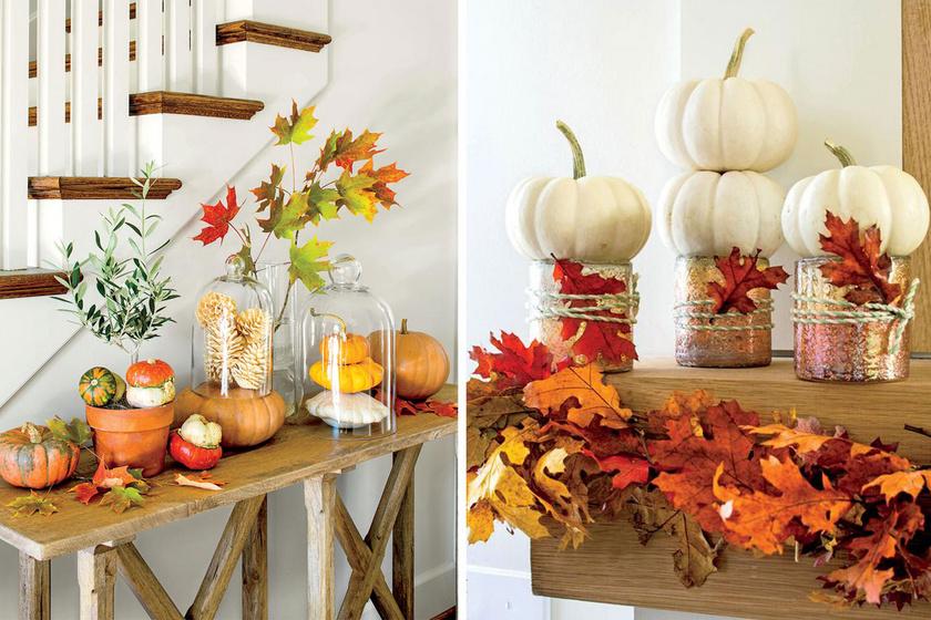 Ötletesek, mutatósak és gyorsak: 9 gyönyörű őszi dekoráció a lakásba