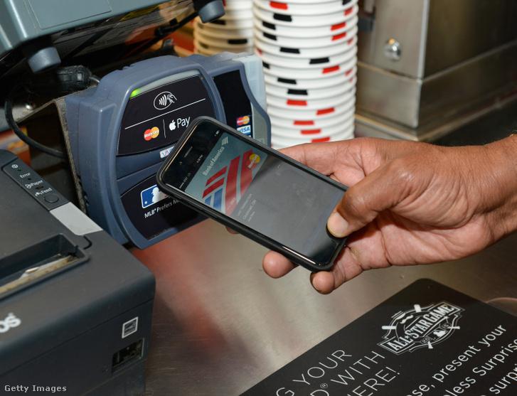 Érintéssel történő mobilos fizetés