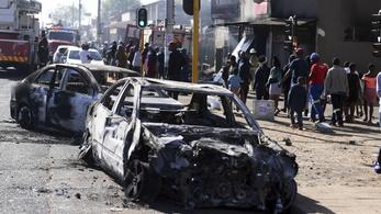 Kezelhetetlen az erőszak Dél-Afrikában