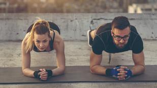 Up&down plank: egy dinamikus változat a még hatékonyabb core-edzésért