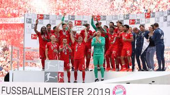 Kéthavi bért hozott minden Bayern-dolgozónak a rekordnyereség