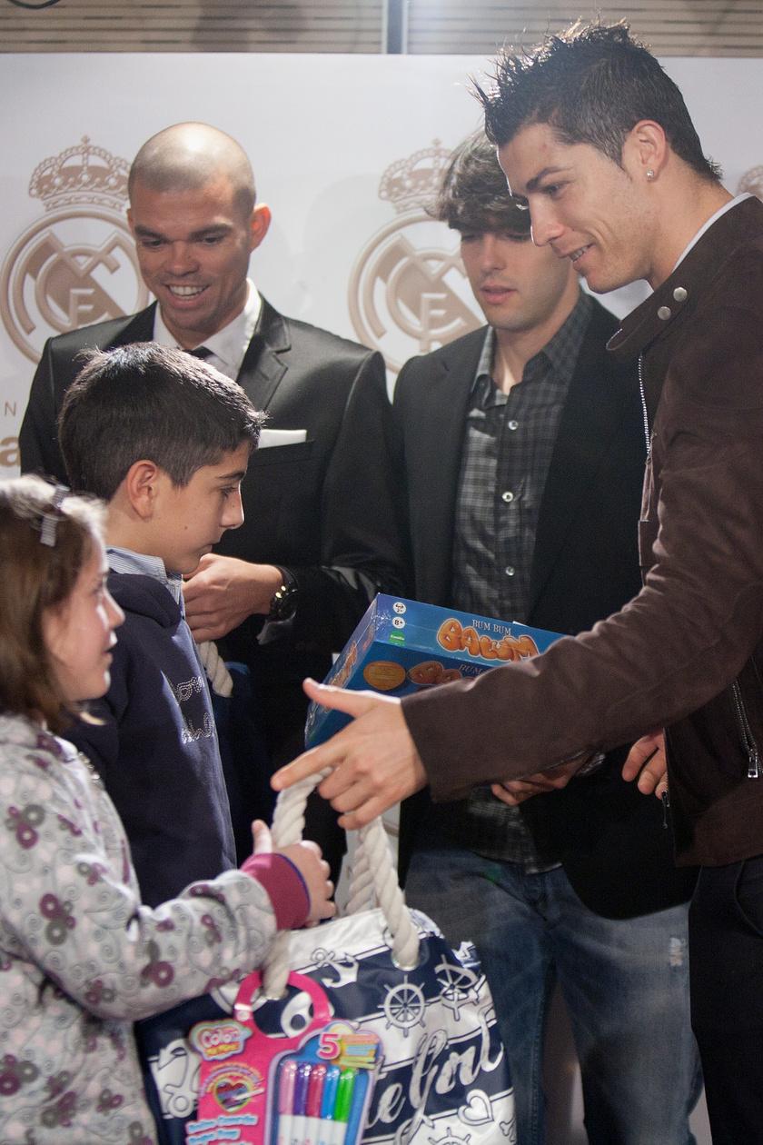 Cristiano Ronaldo rengetegszer jótékonykodott sportolói pályafutása során.
