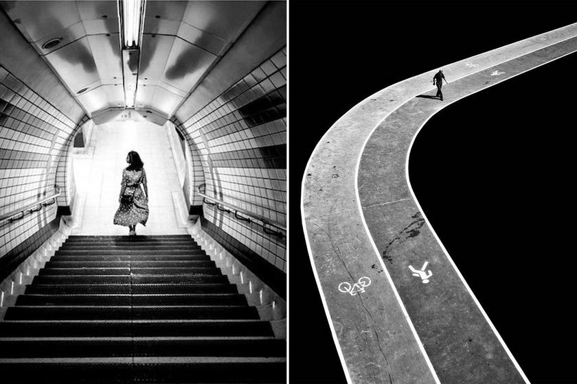 Ritka pillanatot kapott el a fotós a nagyvárosban: talán csak ő vette észre