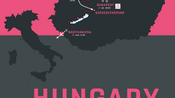 Még két órával a Giro d'Italia mezőnye előtt is lehet aszfaltozni