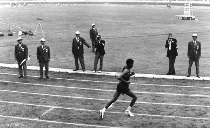 Abebe Bikila a 64-es olimpián