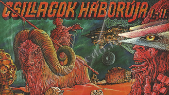 Magyar Star Wars-plakátritkaságot árvereznek