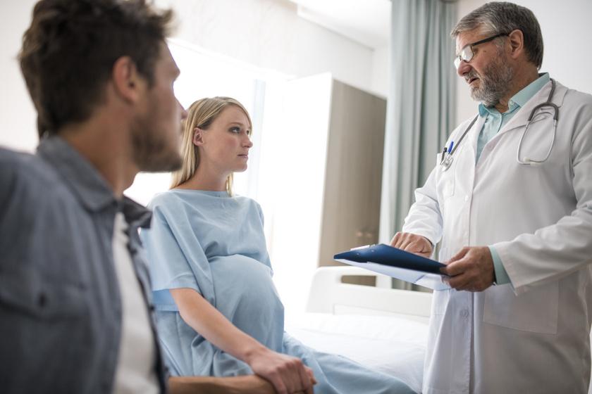 aggodalom, terhesség, trombózis