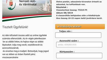 Csalók próbálják megszerezni a bankkártya-adatainkat a NAV nevében