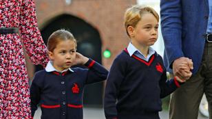 Ma van Charlotte hercegnő első napja az iskolában