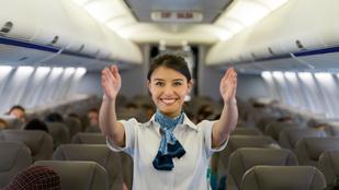 Ez történik, ha nem tartod be a biztonsági instrukciókat a repülőn – videó!