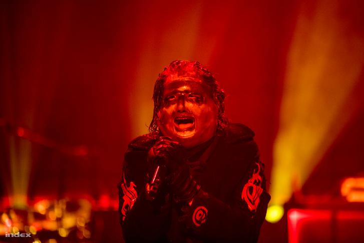 Corey Taylor, a Slipknot frontembere a Volt Fesztiválon 2019-ben